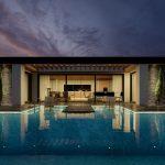 Balaton 110m²-es minimál stílusú családi ház típusterv látványterve